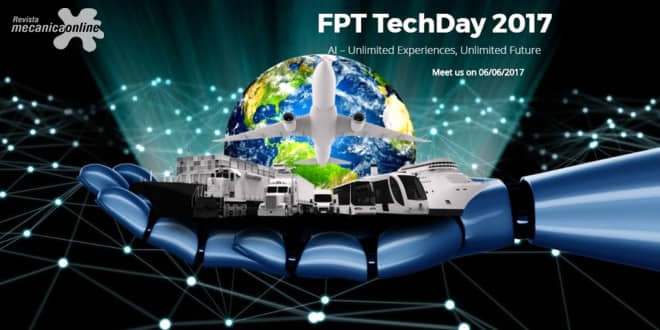 FPT Industrial apresenta mais poderoso propulsor 100% a gás natural no Tech Day