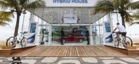 Toyota Hybrid House chega ao Rio de Janeiro, na praia de Ipanema