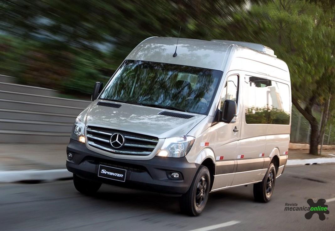360b08f0e27 Mercedes-Benz lança van Golden Edition para celebrar a liderança em vendas  da Linha Sprinter no Brasil