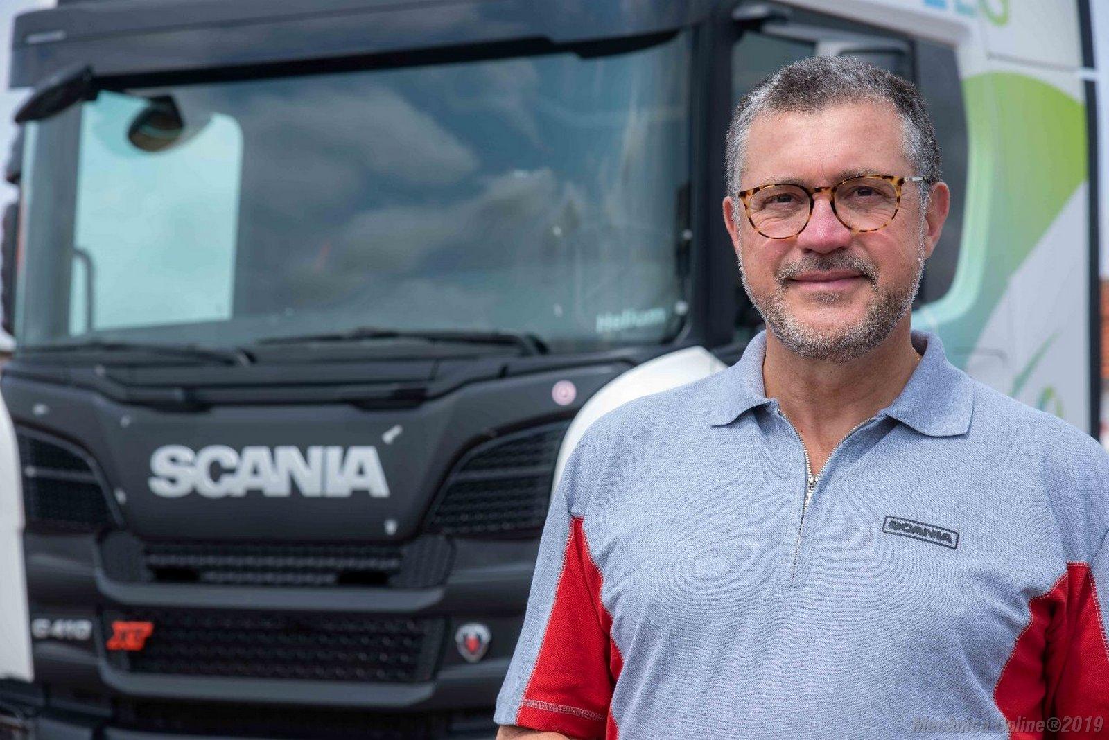 Silvio Munhoz, diretor comercial da Scania no Brasil
