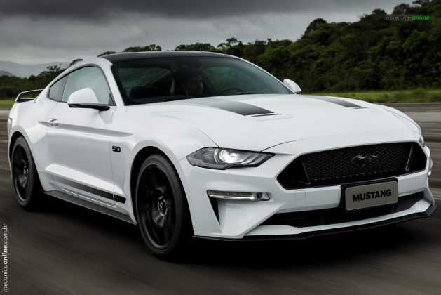 Mustang Black Shadow - Destaque
