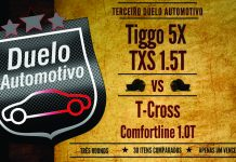 Volkswagen T-Cross Comfortline 1.0 Turbo x CAOA Chery Tiggo 5X 1.5 Turbo